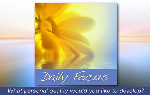Daily Focus