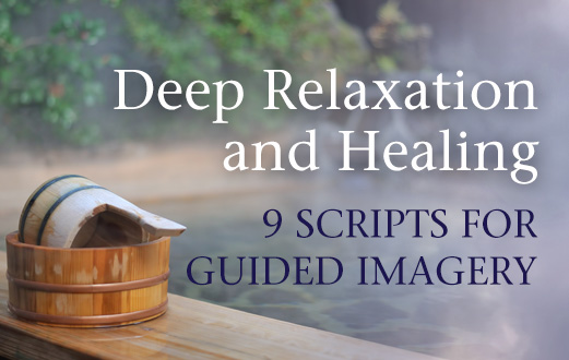 guided imagery Guided imagery is not only deeply relaxing and soothing, it actually helps to  balance the nervous system and teach the skills of self-regulation and relaxation.